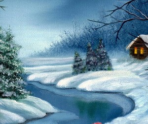 art, christmas, and places image