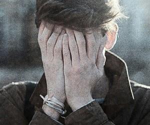 boy, hands, and vintage image