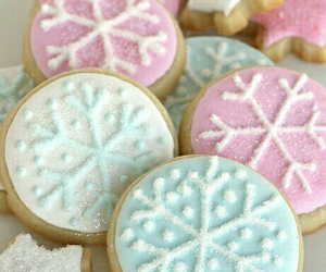 Cookies, food, and snowflake image