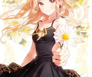 flowers, kawaii, and anime image