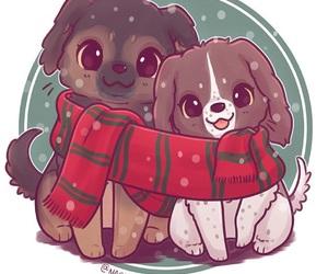 animals, christmas, and naomi lord image