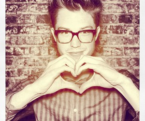 cameron mitchell, glasses, and love image