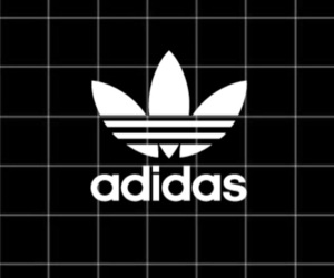 adidas, black, and blocks image