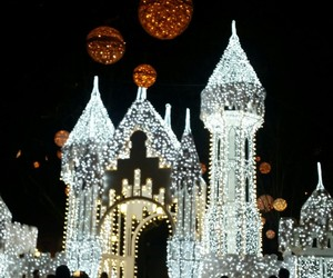 castle, christmas, and decoration image