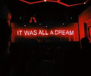 Dream and neon lights image