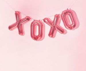 simple, xoxo, and pink image