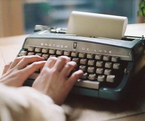 vintage, write, and indie image