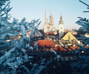 city, Croatia, and winter image