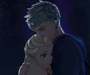 jelsa, disney, and elsa image