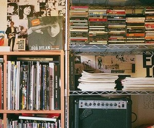 music, cd, and bob dylan image