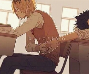 yaoi, Boys Love, and haikyuu image