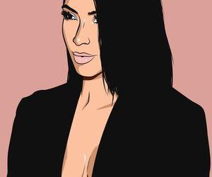 kim kardashian and art image