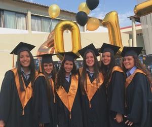best friends, goals, and graduation image