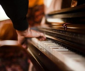 music, pianist, and piano image