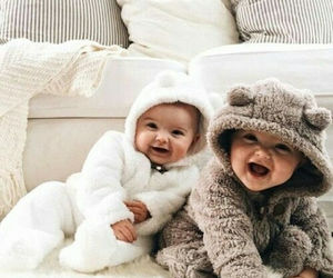 baby, kids, and family image