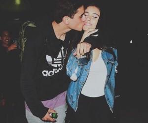 couple, jadison, and kiss image