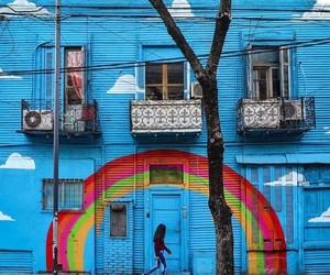 arcoiris, arte, and colores image