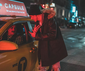 aesthetic, beanie, and cab image