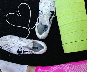 run, spikes, and workout image