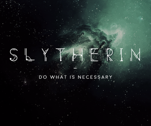 slytherin, harry potter, and aesthetic image