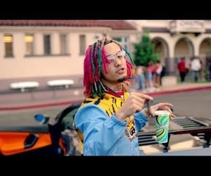 music, gucci gang, and lil pump image