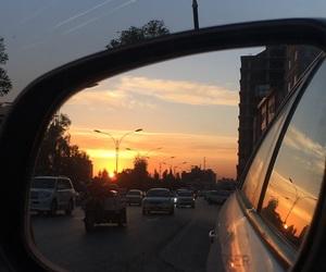 car, dark, and happy image