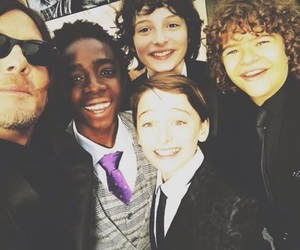 the walking dead, norman reedus, and stranger things image