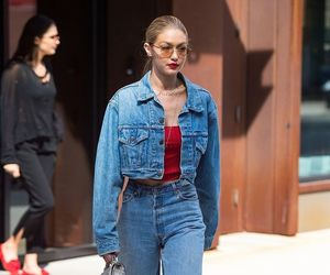 beauty, denim, and famous image