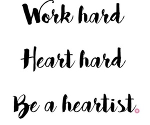be, heart, and hard image