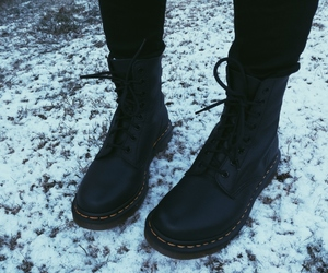 dr martens, grunge, and music image