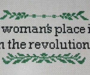 revolution, feminism, and feminist image