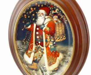etsy, limited edition, and santa claus image
