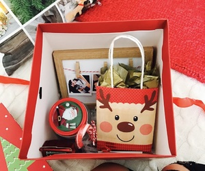 amor, box, and christmas image