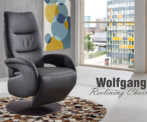 made in germany, recliner chair, and leather reclining chair image