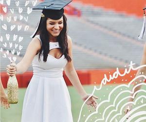 dress, graduation, and cody johns image