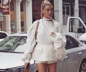fashion, hailey baldwin, and style image