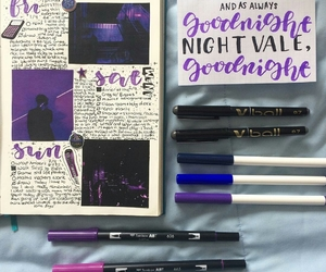 journaling, lettering, and bujo image