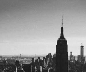 nyc, wallpaper, and b&w image