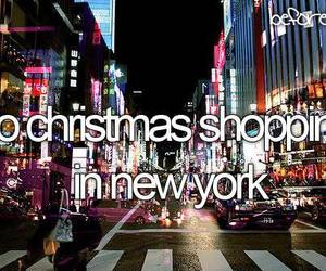 before i die, new york, and shopping image