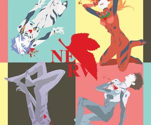 anime, Neon Genesis Evangelion, and rei ayanami image
