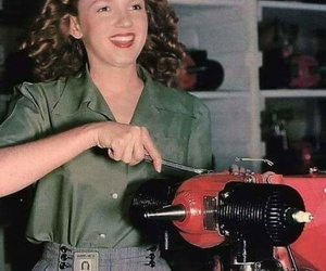 Norma Jean and working image