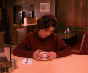 Twin Peaks, coffee, and Audrey Horne image