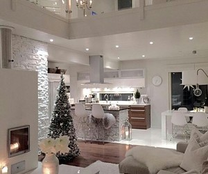christmas, room, and decore image