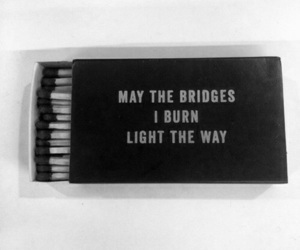 quotes, black, and burn image