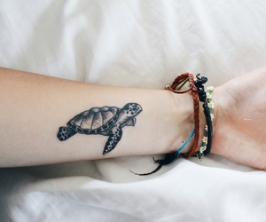 tattoo and turtle image