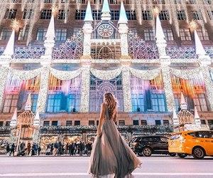 light, beautiful, and girl image
