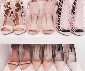pastel, shoes, and pastel pink image