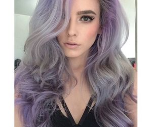 hair, beauty, and dye image