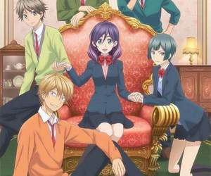 anime, watashi ga motete, and kiss him not me image