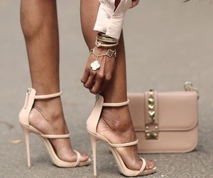 heels, outfit, and stylish image